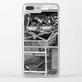 Track Noir TORC #3 Clear iPhone Case