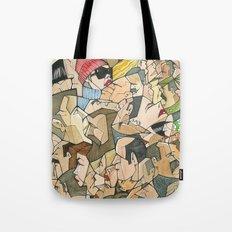1001 faces Tote Bag