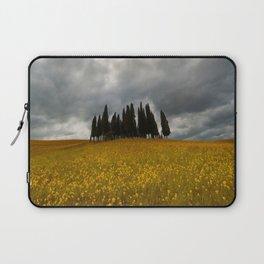 Golden fields of Tuscany Laptop Sleeve