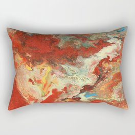 Abstract Oil Painting 2 Rectangular Pillow