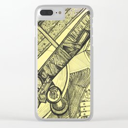 A Day at the Park Clear iPhone Case