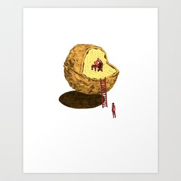 Life in a Nutshell Art Print
