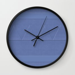 Ship Cove Shapes Wall Clock