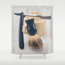 Barber Shower Curtain