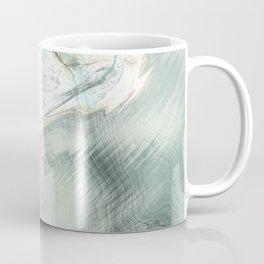 Luxury Turquoise Marble texture Coffee Mug