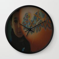 child Wall Clocks featuring Child by Nicholas Bremner - Autotelic Art