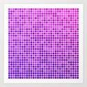 Pink purple mosaic by davidzydd