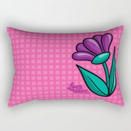Flower - Laura Wayne Design Rectangular Pillow