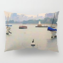 Lake by the City Pillow Sham