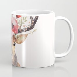 Bohemian Deer Coffee Mug