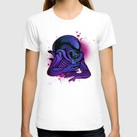 xenomorph T-shirts featuring Xenomorph Drone by electroluxx
