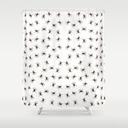 House spiders Shower Curtain