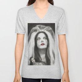 Cristina Scabbia Vampire Bride Unisex V-Neck