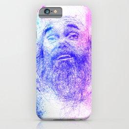 Ram Dass Illustration iPhone Case