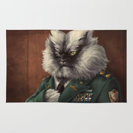 Colonel Meow Rug