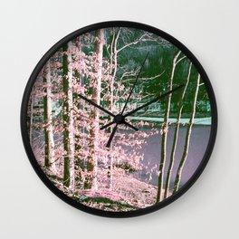 The Old Lake Wall Clock