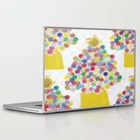 christmas tree Laptop & iPad Skins featuring Christmas Tree by lillianhibiscus