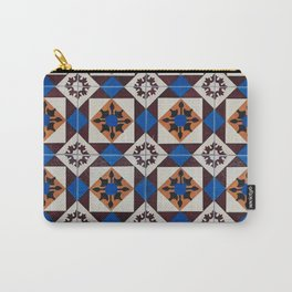 Portuguese tile pattern Carry-All Pouch
