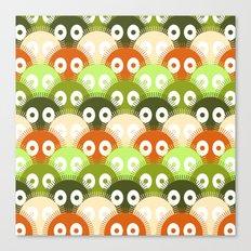 susuwatari pattern (color version) Canvas Print