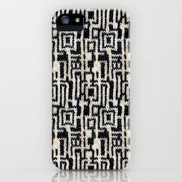 Maze Knit iPhone Case