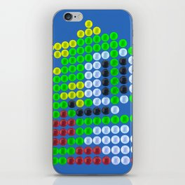 Bubble Bobble bubbles iPhone Skin