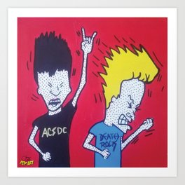 Beavis & Butthead | Pop Art Art Print