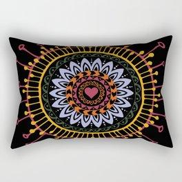 Mandala hand 1 Rectangular Pillow