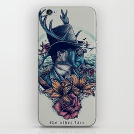 The Other Face iPhone Skin