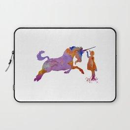 Unicorn art Laptop Sleeve