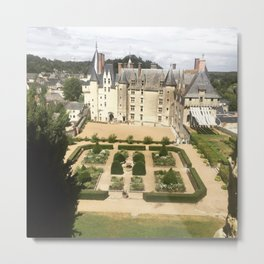 French Medieval Castle Metal Print