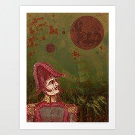 Admiral Art Print