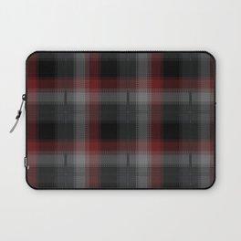 Black, Red, Lumberjack Plaid Laptop Sleeve