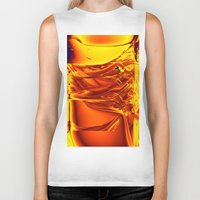 waterfall Biker Tanks featuring waterfall by donphil