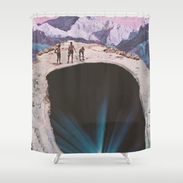 Hidden Depths Shower Curtain