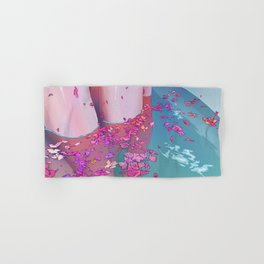 Flower Bath 4 Hand & Bath Towel
