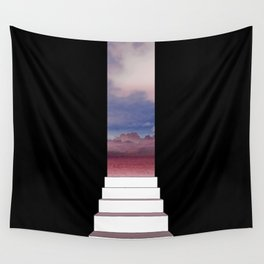 Let yourself out Wall Tapestry