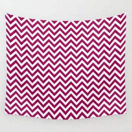 Berry Chevron - more colors Wall Tapestry