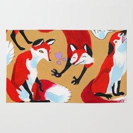 Fox Bunch Rug