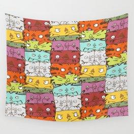 Tiger Kuubs Wall Tapestry