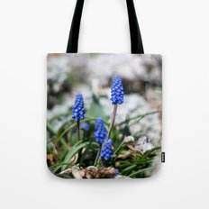 Grape Hyacinth III Tote Bag