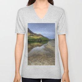 Buttermere, Lake District Unisex V-Neck