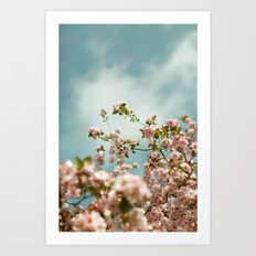 Saturday Sky #3 Art Print
