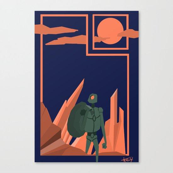 Departure Canvas Print