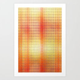 Exotic Abstract Sunset Art Print