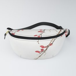 Red Berry Branches Fanny Pack