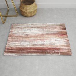 Striped watercolor Rug