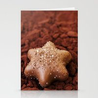 chocolate Stationery Cards featuring Chocolate by LebensART Photography