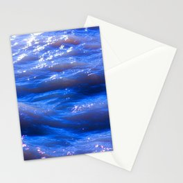 Blue Glitter in Eastern Iceland Stationery Cards