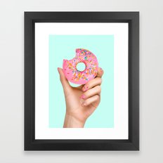 SPRINKLE POLISH Framed Art Print