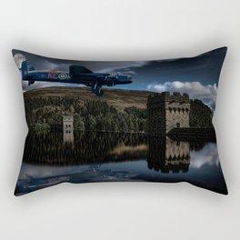 Dambuster practice Rectangular Pillow